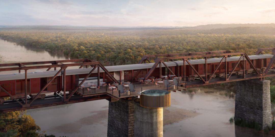 Kruger Shalati 'Train on a Bridge' in Skukuza Rest Camp in the Kruger National Park set to open on December 16.