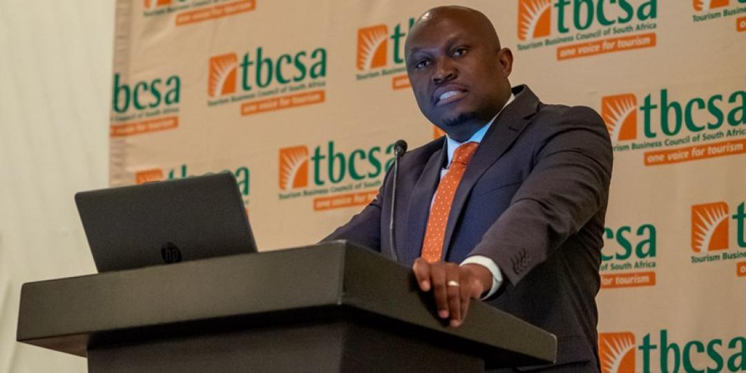 CEO of the Tourism Business Council of South Africa, Tshifhiwa Tshivhengwa