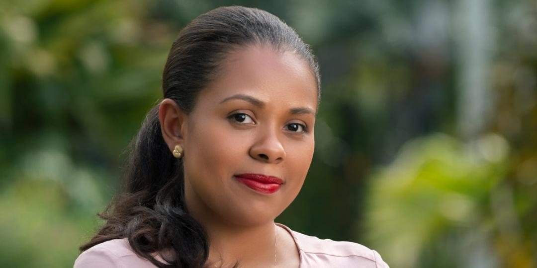 CEO of the Seychelles Tourism Board, Sherin Francis.