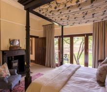 The property has five double or twin bedrooms and can accommodate up to 10 guests