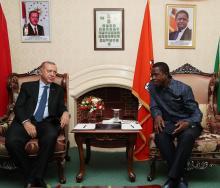 Turkey's President Recep Tayyip Erdoğan met with Zambia's President Edgar Lungu over the weekend to sign economic agreements.
