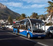 A MyCiTi bus seen in Cape Town.