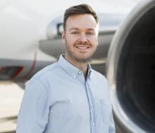 FlySafair Chief Marketing Officer, Kirby Gordon.