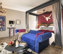 One of the rooms in Etosha King Nehale Lodge