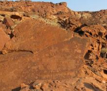 Twyfelfontein - Unesco World Heritage Site and unique rock engravings