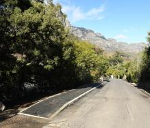 Kloofnek Road, courtesy of The City of Cape Town
