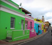 Colourful houses in the Bo-Kaap can be seen on virtual tours