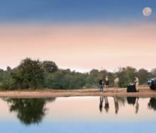 Game drives at Makumu Private Game Lodge