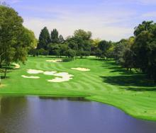 Houghton Golf Club, Johannesburg.